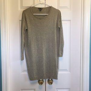 H&M Grey Sweater Dress XS